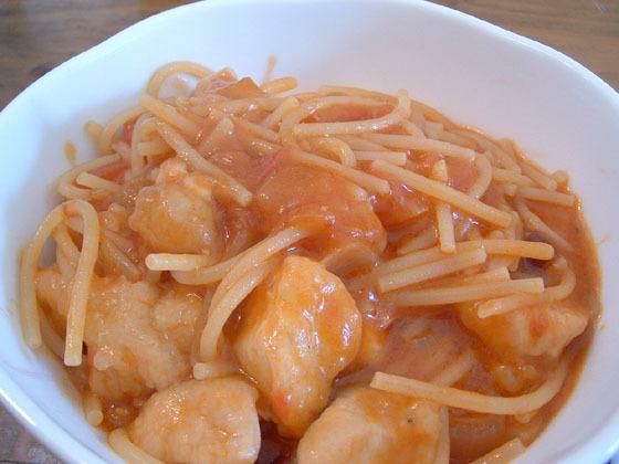スープの器の方がいいかも、簡単うまい、ナポリのマンマ直伝パスタ.jpg